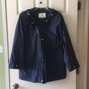 London Fog size S light weight blue jacket